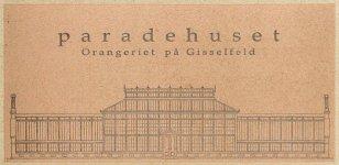 Paradehuset - Orangeriet på Gisselfeld Logo